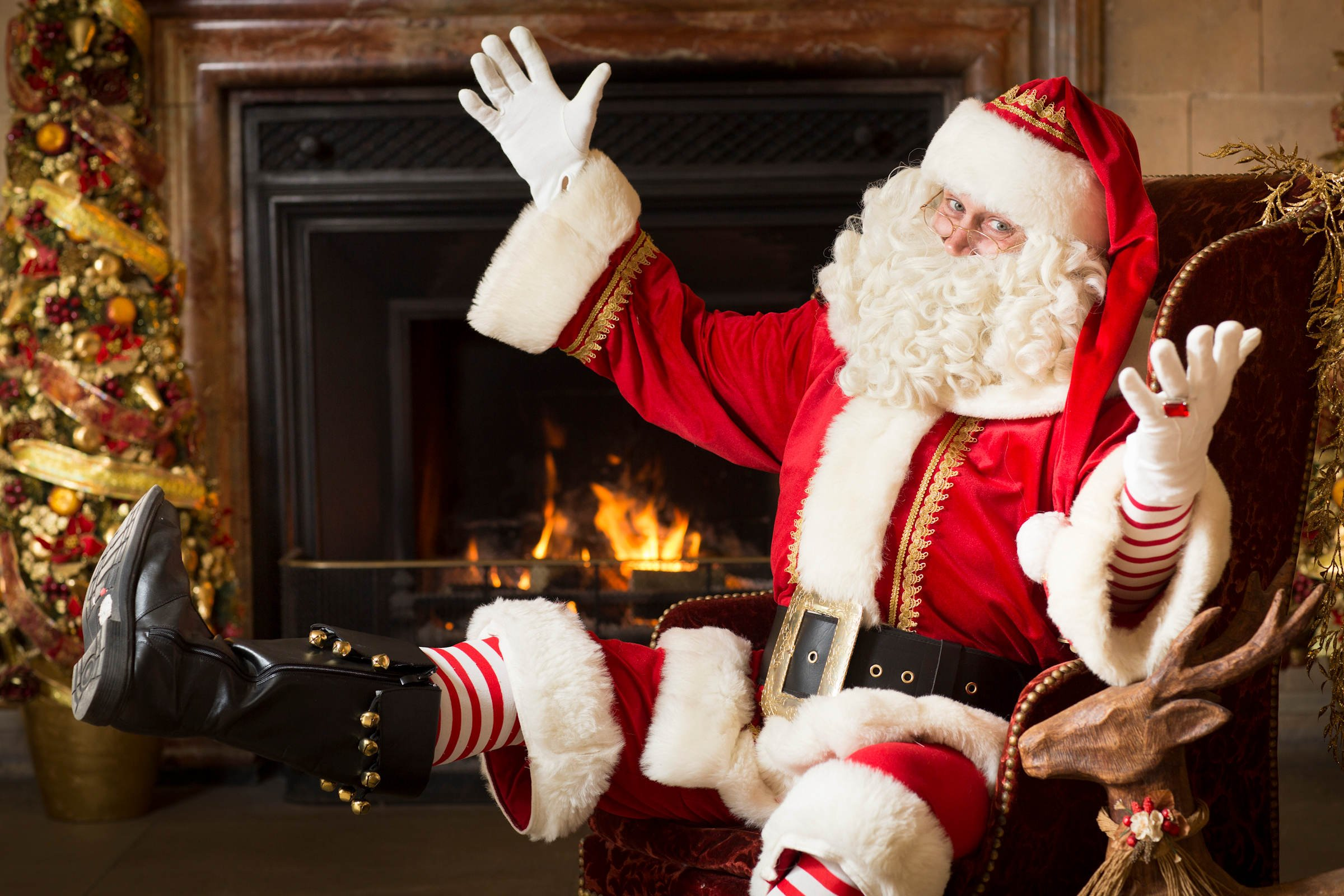 father christmas events manchester