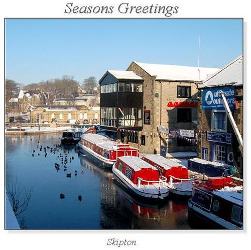 Skipton Christmas Canal Cruise with 3 course meal