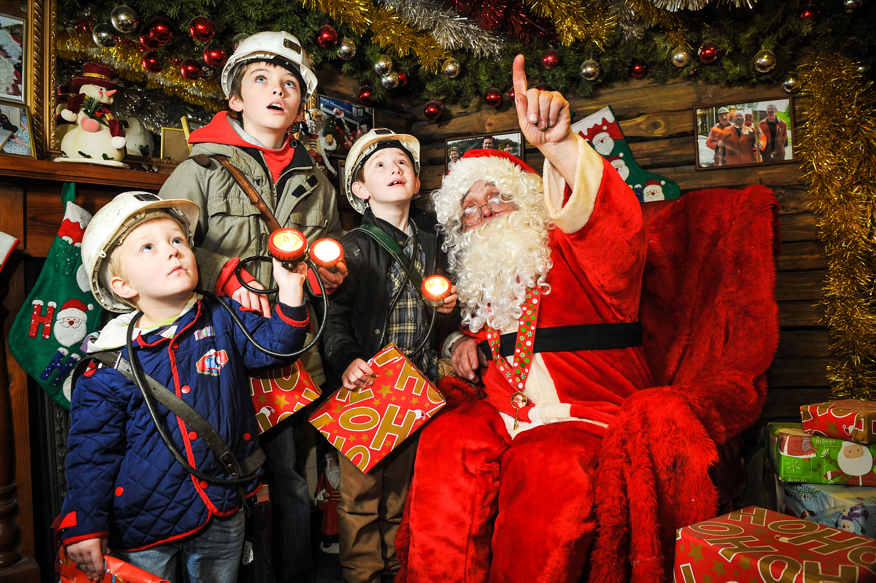 Santa\'s Grottos - Christmas | Welcome to Yorkshire