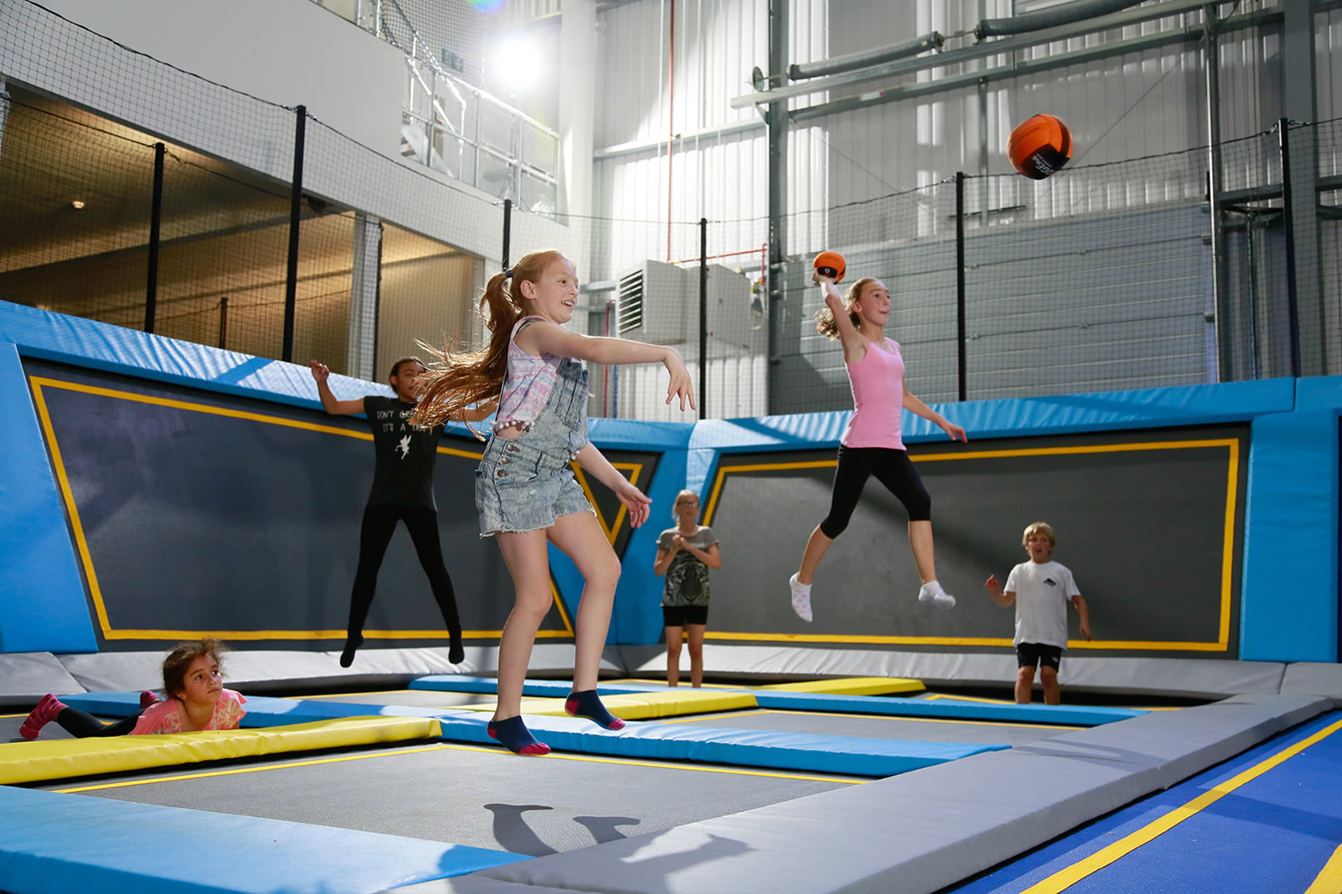 Oxygen Freejumping Attraction Leeds West Yorkshire