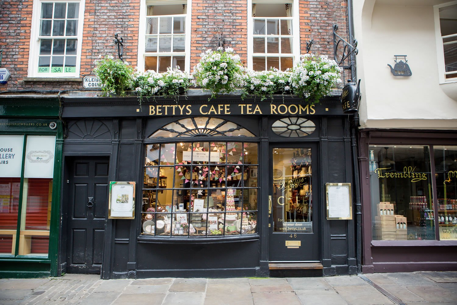 Bettys Cafe Tea Rooms Stonegate Food Amp Drink York