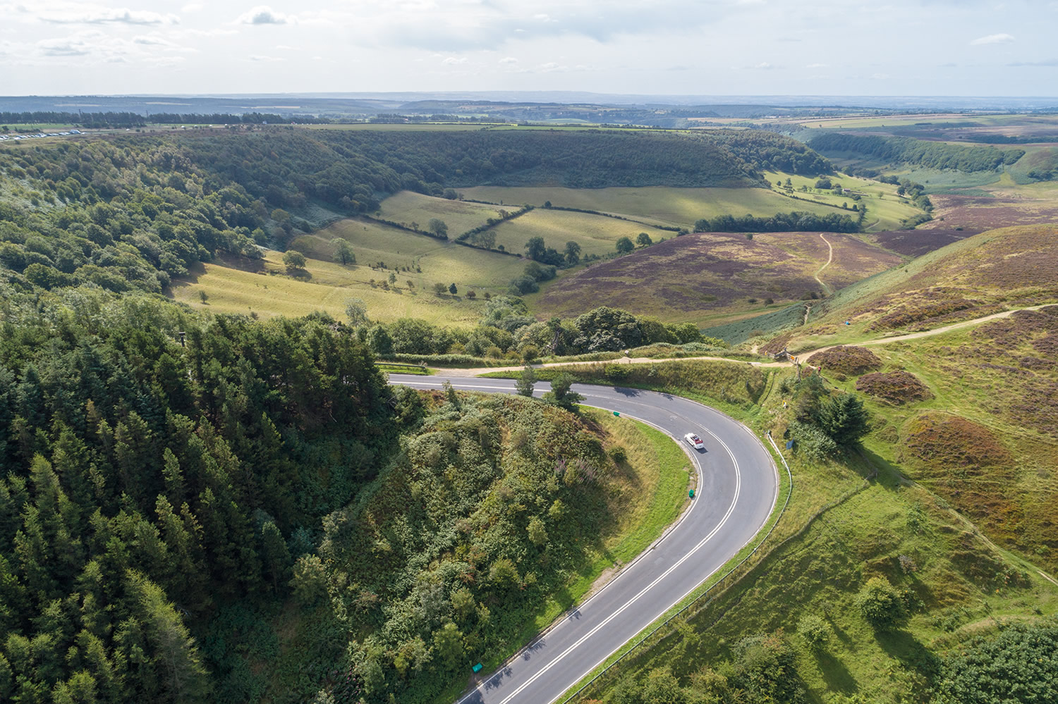 Image result for views driving into whitby